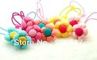 Elastic Ponytail Holders Hair accessories Wholesale lots stretch Hair ties mix colors