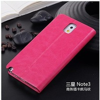 Business protective holster N9000 Crazy Horse pattern right hand high-end chassis for Samsung note3 protective sleeve