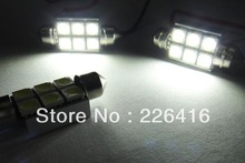Free shipping, 2 pieces super bright License plate Light 6418 No Error 6 SMD LED for Benz W163 Mercedes ML320 ML350 ML500 ML55(China (Mainland))