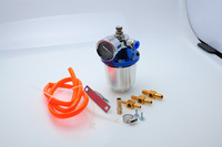 Free shipping hot brand newest secondary fuel intake adjustable accelerator with barometer
