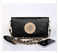 2013 women at hand bag shoulder inclined shoulder bag handbag black