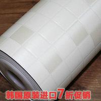 toilet sticker Self adhesive paper bathroom waterproof wallpaper mosaic wall stickers oil  kitchen decoration