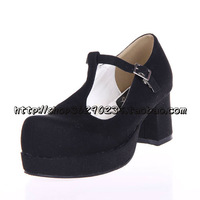 2013 lolita shoes cos shoes t thick heel shoes 9818