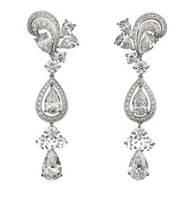 Derongems_Fine Jewelry_Customized Luxury White Waterdrop Party Tassel Earrings_S925 Solid Silver Earring_Factory Directly Sales