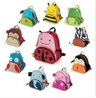 Animal cartoon child school bag kindergarten school bag primary school students school bag double-shoulder book(China (Mainland))
