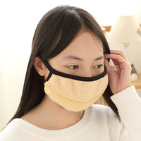 Good Quality Women's plush masks winter thermal masks dust mask fashion masks 36375  little gifts