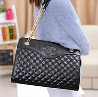 2013 women's bags classic fashion plaid chain vintage bag shoulder bag handbag
