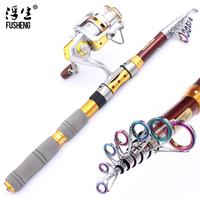 1.8M meters sea rods carbon fishing tackle long shot fishing rod set