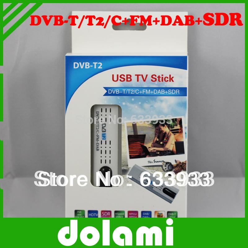 Free shipping Supernova Mini USB DVB-T2 / DBV-C/DVB-T/T2/FM/DAB TV Stick Enjoying watch TV channels without internet connection(China (Mainland))