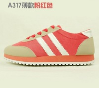 Free shipping hot 2013 Net yarn breathable sneaker/flat shoes, women's shoes/walking shoes