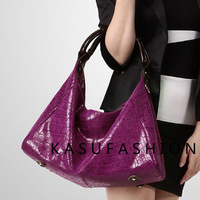 2013 OL outfit bag dumplings japanned leather first layer of cowhide women's handbag women's bag handbag