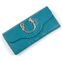 New Arrival Long Folding Women Wallet Genuine  Leather Crocodile Pattern Purse Fashion Clutch Wallets,  handbag ANS91
