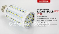 Cheap wholesale LED corn bulb LED energy saving lamp e27 screw 12W 10pcs/lots  Free shipping