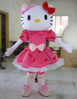 new!!! Miss Hello Kitty Mascot Costume Adult Size Hello Kitty Mascot Costume High quality adult mascot costume
