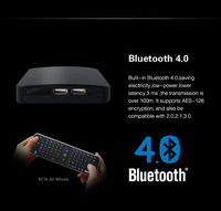 Measy B4K Quad Core Android 4.2 Bluetooth TV Box Mini PC 3D Blue-ray HDMI Camera Media Player 4K*2K+ RC16 Bluetooth Air Mouse