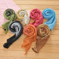 Cabbare 2013 price of the spring and autumn Women fashionable casual all-match candy color double layer knitted ultra long scarf