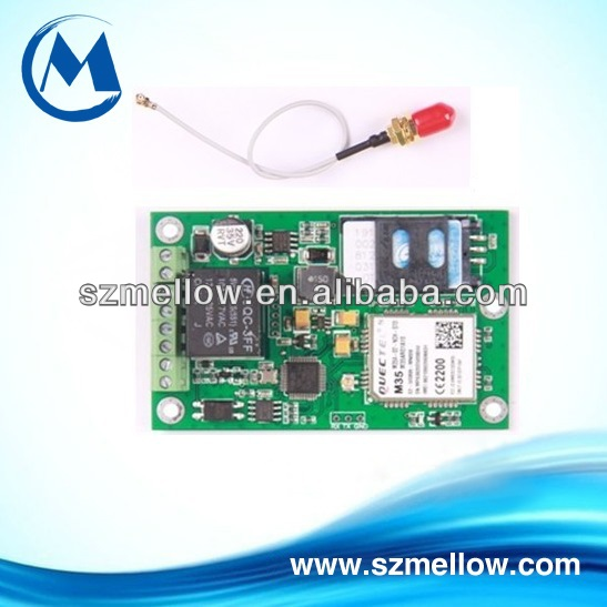 GSM Security Alarm system,gsm rtu sms controller,relay switch by SMS text command(China (Mainland))