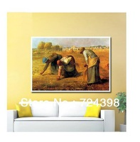 free shipping free shipment cross stitch set painting picture cross stitch kit,Embroidery kit The Gleaners