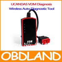 New Arrival  Wireless Universal Car Diagnostic Tool UCANDAS VDM Update Online Auto Scanner VDM with DHL free