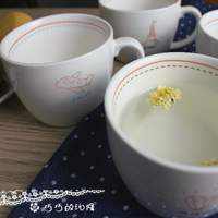 Small fresh cartoon  ceramic  milk cup breakfast  zakka  coffee  Mugs
