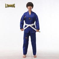 Adult child taekwondo myfi performance wear red blue black multicolour stripe tae kwon do