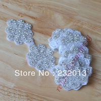 BT042 DIY Handmade Floral Beading Cummerbunds Motif Belts for Women Wedding Dress Accessories High Qualtiy Free Shipping
