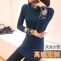 2013 women's all-match long-sleeve turtleneck sweater basic shirt sweater outerwear