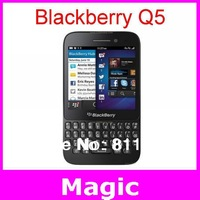 Original Blackberry Q5 Dual-core mobile phone 3G 4G Network 5MP 2 RAM+8G ROM By SG Post free shipping