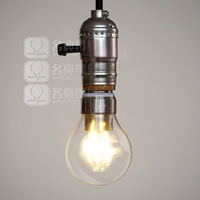 Free Shipping, big mouth spiral energy saving lamp E27 LED Lamp Warm bright yellow bulb Edison light bulb