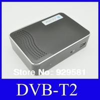 High Definition Digital Terrestrial DVB T2 DVB-T2 Receiver with MPEG2/ MPEG4/H.264/DVB-T2 /USB/HDMI 1080P Free shipping