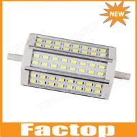 R7S 12W 48*5730 118mm White Light LED Bulb 85-265V AC energy saving replace halogen floodlight