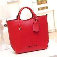 New Hot Sale Fashion Women's Handbag Shoulder Bag Top Elegant Bags High Quality Pu Leather Free Ship