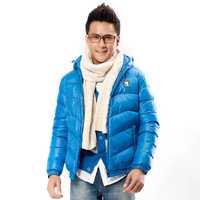 361 men's clothing thickening outerwear sports cotton jacket male cotton jacket df 551349210