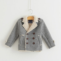 Berber fleece suit child outerwear thickening thermal children's clothing winter