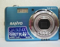 Free shipping14 MP Digital Camera simple fit for person high qulity  touch screen 720P