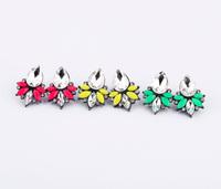 accessories bohemia drop small 1997 women's alloy stud earring