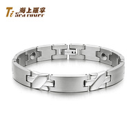 Rover bracelet male fashion anti radiation pure germanium titanium male bracelet