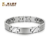Rover bracelet male fashion anti radiation pure germanium titanium male bracelet