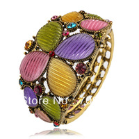 6PCS/LOT Perfect Vintage Women Cuff Bangle