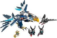Hot Sale! 2013 New Bela 10057 Eagle Jess Eagles Interceptors, Chima Qigong Legend. 348 Pcs/Set, Children's DIY Educational Toys