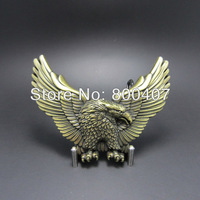 Wholesale Retail Antique Brass Western Eagle Belt Buckle BUCKLE-WT005AB Fast Delivery Free Shipping