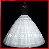 Bridal Accessories Petticoat Crinoline 6-hoops 2 Layer Suitable for Ball Gown Wedding Gowns Wedding Dresses Free shipping