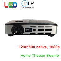 1080P Led Mini Proyector Beamer 3000Lumens Portable Size
