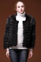 Limited edition rumours wool raccoon fur car wire short fur coat fashion design