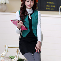 Free Shipping 5213682 2013 winter gentlewomen all-match colorant match woolen one-piece dress