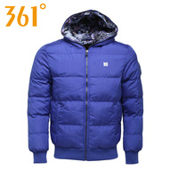 361 men's clothing winter men df thermal windproof cotton jacket 351340502