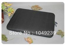 Hot sale Snakeskin pattern PU leather 10/12/13/14/15.6/15.6 inch laptop sleeve case/notebook computer bag