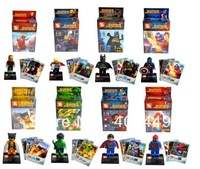 super heroes SY180 avengers alliance moive 8PCS Superman, Iron Man, Thor  DIY Building Block set Toys Compatible With Lego  T38