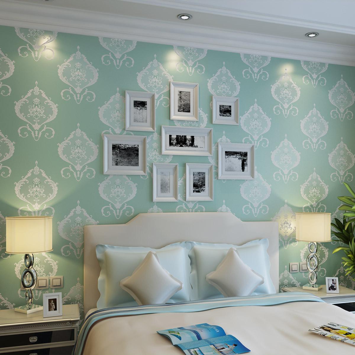 slaapkamer groen blauw ~ lactate for ., Deco ideeën
