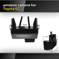 New Wireless for Toyota EZ backup Camera Waterproof Night vision HD CCD 170 degree car rearview Parking Camera